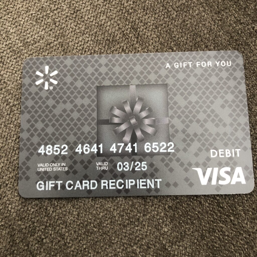 How to check a Walmart Visa Gift Card Balance - SellGiftCards.Africa